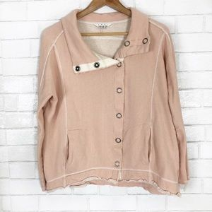 cAbi weekend jacket French terry snap front